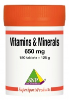Vitamines & Minerals