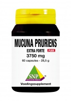 Mucuna Pruriens extra forte 3750 mg Puur