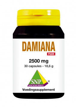 Damiana Extract 2500 mg Puur