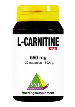 L-Carnitine 550 mg Puur