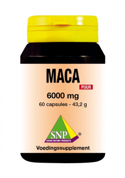Maca 6000 mg extra forte Puur