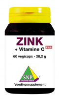 Zink + Gebufferde Vitamine C Puur vegicaps