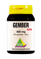 Gember 400 mg Puur