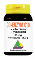 Co-enzym Q10 + vitamines + mineralen