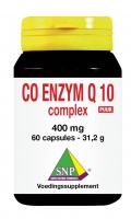 Co enzyme Q 10 complex 400 mg Puur
