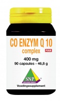 Co enzyme Q10 complex 400 mg Puur
