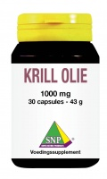 Krill Olie 1000 mg One a day
