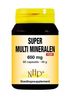Super Multi-Mineralen 650 mg Puur