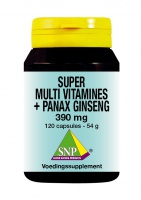 Super Multi Vitamines + Panax Ginseng