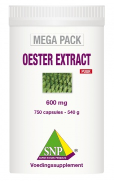 Oester Extract+Royal Jelly+Maca  Puur 750 capsules MEGA PACK