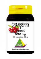 Cranberry + Vitamine C 5000 mg