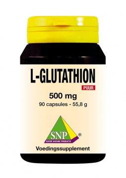 L-Glutathion Puur 500 mg