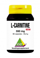 L- Carnitine 550 mg Puur