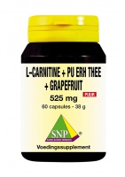 L-Carnitine Pu Erh Thee Grapefruit Puur