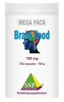 Brain Food     700 mg     750 capsules   MEGA PACK
