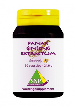 Panax Ginseng Extract & Royal Jelly + Guarana